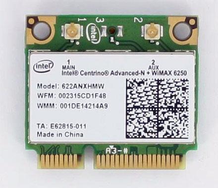 Intel Wimax 6250 Driver